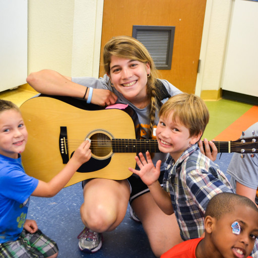 Music classes at Rosen Jewish community center