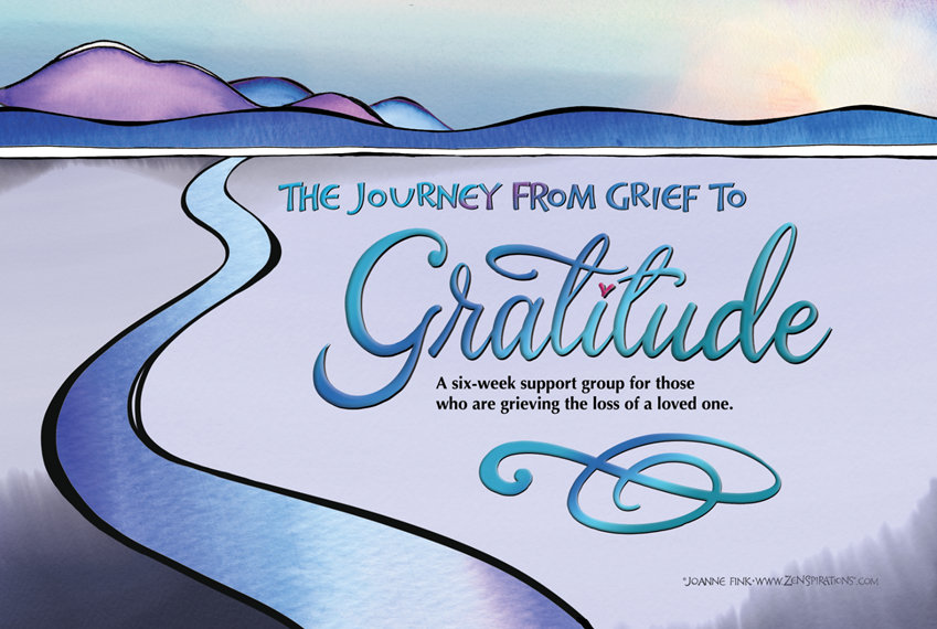 The Journey From Grief To Gratitude